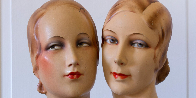 Schaufenster-Mannequins Peter Mager