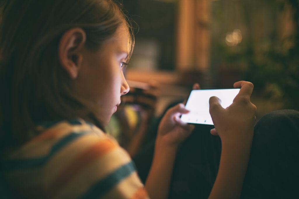 Kinder Handy Familie Smartphone
