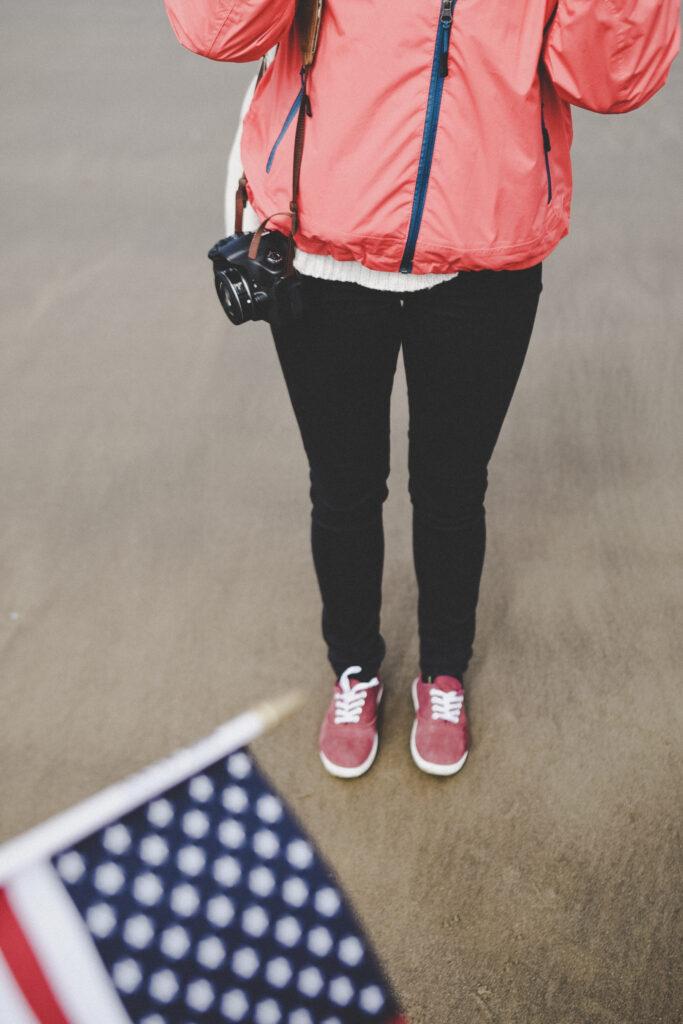 Studentin USA