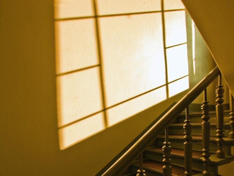 Weihnachten Treppenhaus Gottesdienst