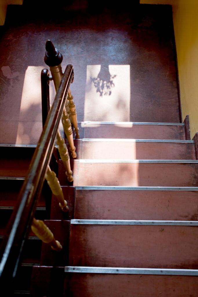 Treppenhaus Regina Laudage-Kleeberg Weihnachten
