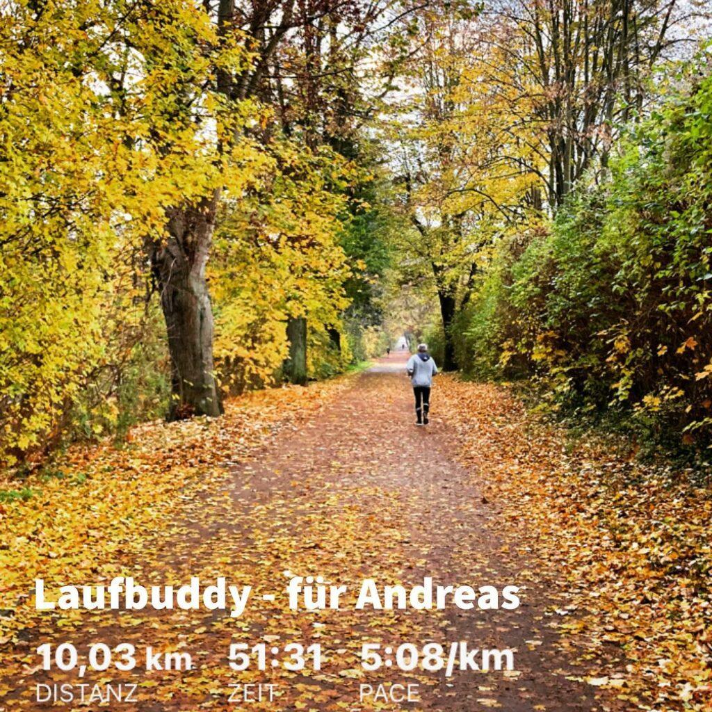 Laufbuddy Andreas