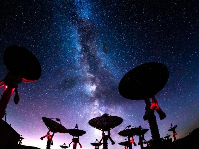 Gott Astronomie Weltall
