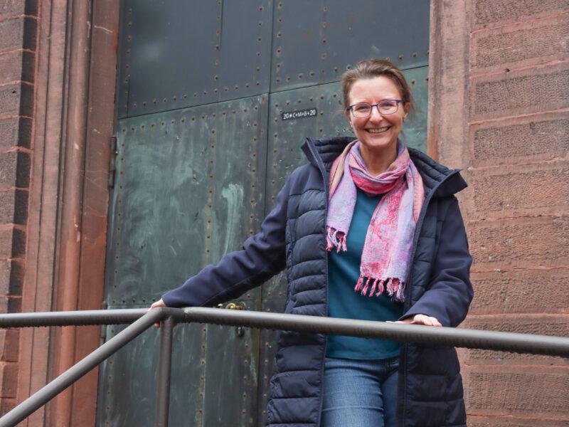 Sybille Burmeister Kircheneintritt