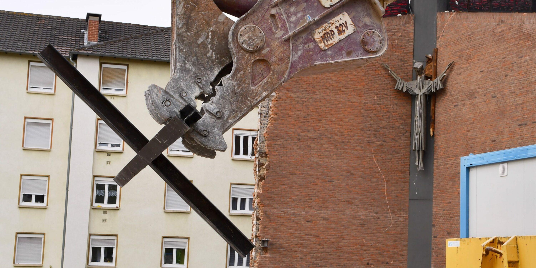 Heilig Kreuz Abriss