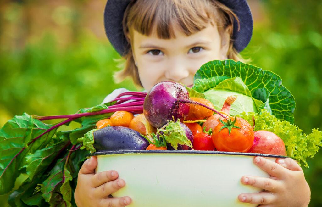 Kinder Ernährung Gemüse